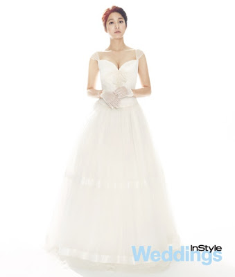 Park Se Young - InStyle Weddings Magazine April Issue 2013 Beautiful Bride