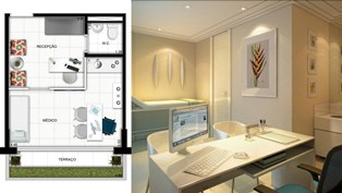 sala comercial Offices Design Santana