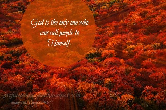 God calls people to Himself {Reading List}