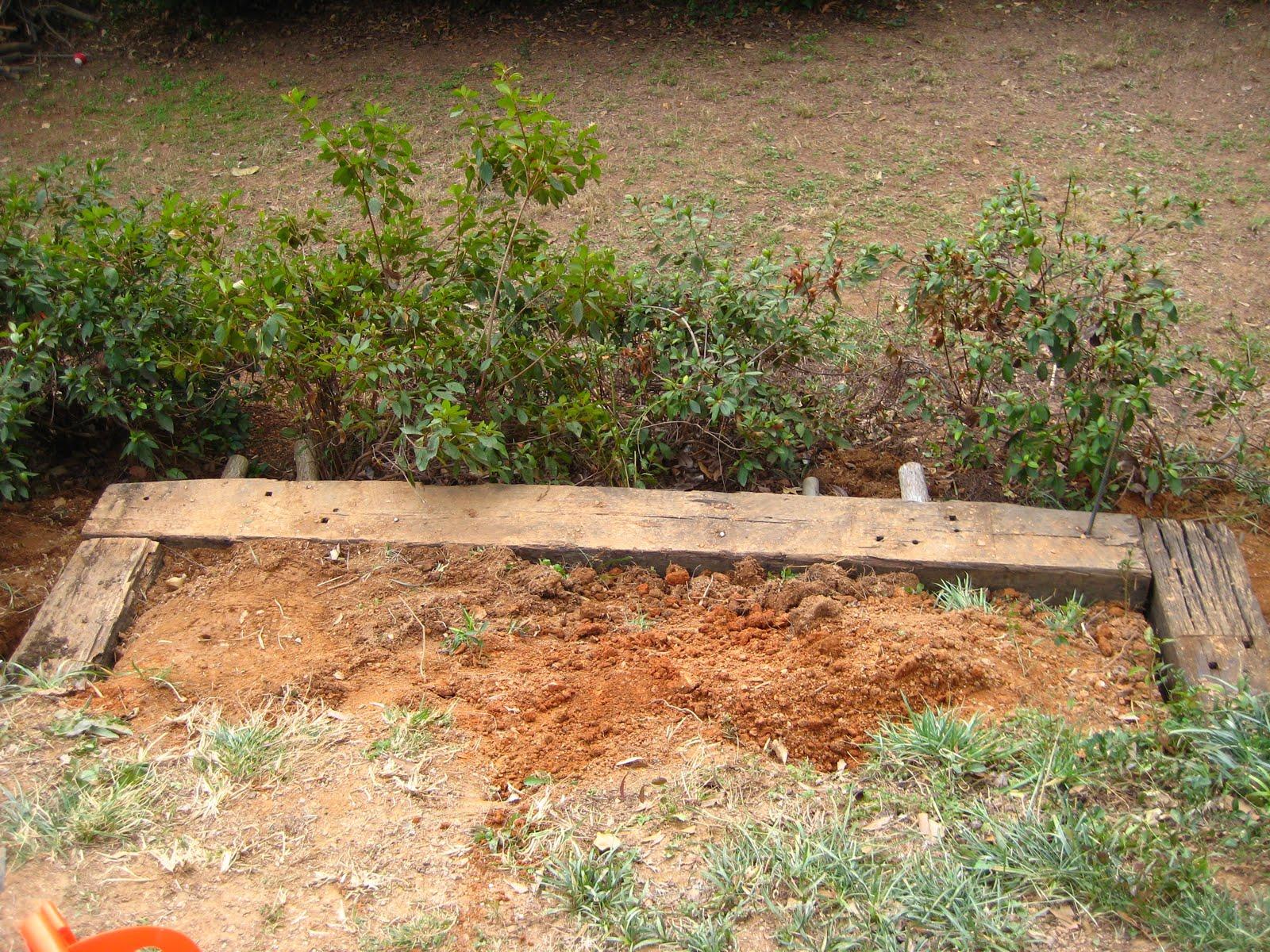 The Smith Nest}: Railroad Tie Garden