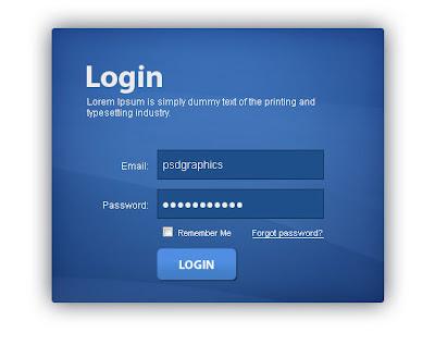 Descargar formularios de contacto en PSD