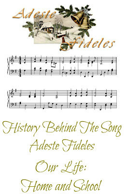 History Hymn Adeste Fideles