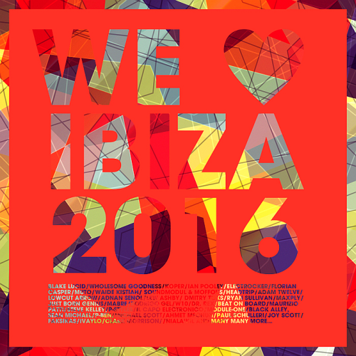 CD - We Love Ibiza (2016)