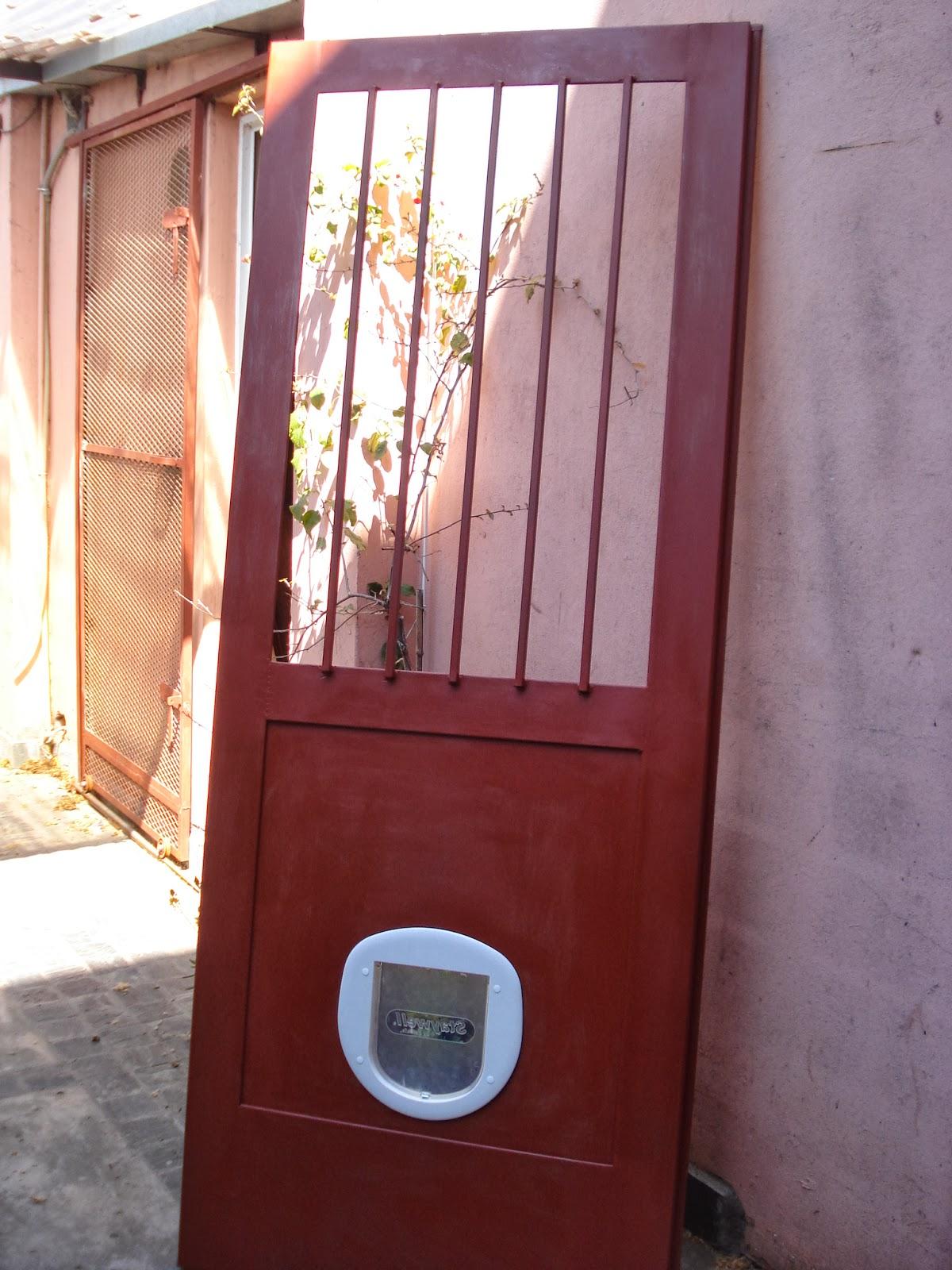herreria de obra lo de olea puerta para patio con acceso