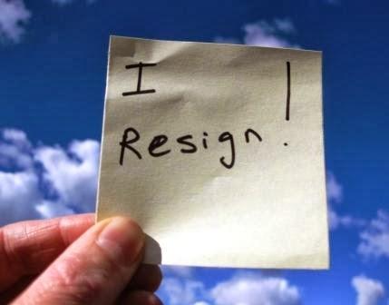 Surat Resign Pengunduran Diri