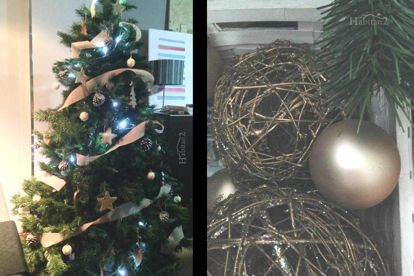 """Arbol de Navidad en """"Villa Habitan2"""