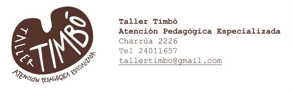 TALLER TIMBÓ - atención pedagógica especializada