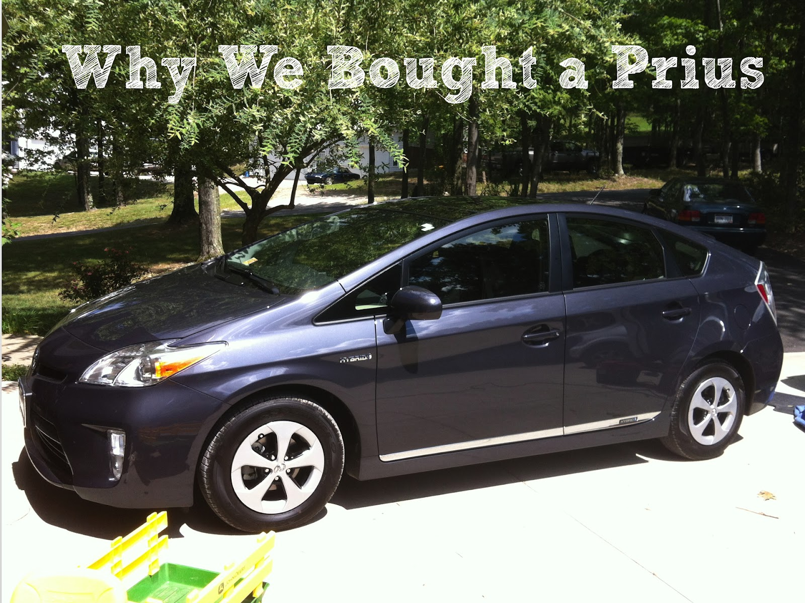 made why we bought a prius. Black Bedroom Furniture Sets. Home Design Ideas