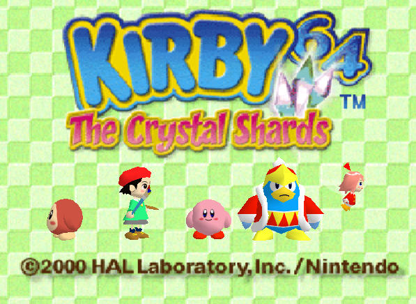 Leave Luck To Heaven Ten Years of Kirby Reverie 7 Kirby 64 The