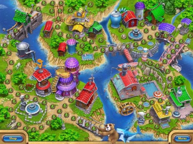 Farm Frenzy Gone Fishing PC Games Screenshots