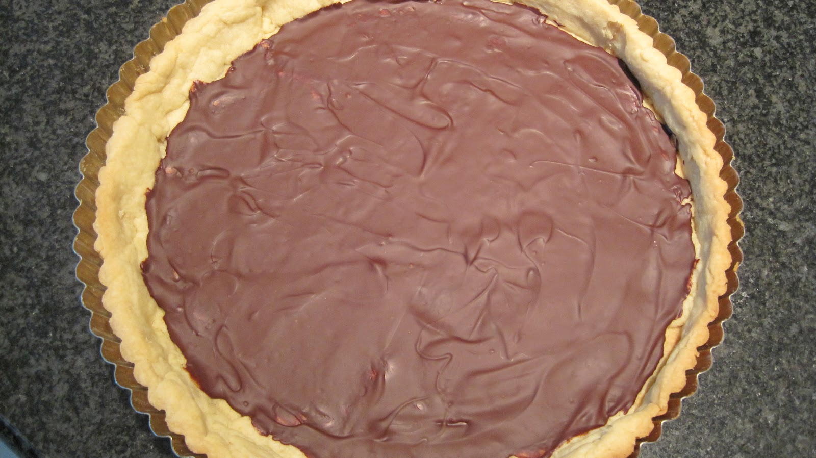 Meyer Lemon Tart with a Layer of Chocolate - At Home with Vicki ...