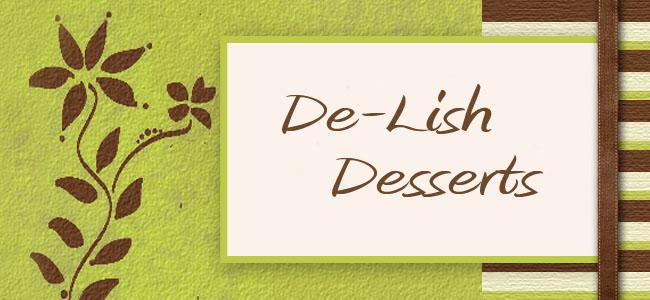 De-Lish Desserts