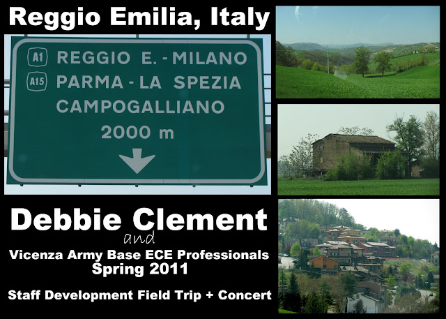 photo of: Reggio Emilia Countryside Photo Collage