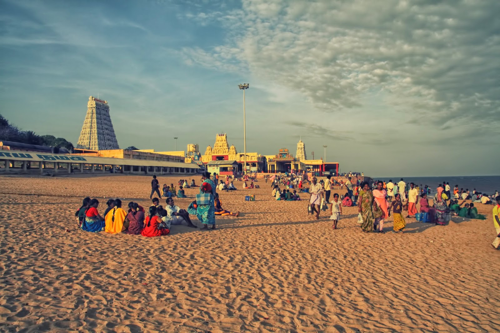 Thiruchendur Beach