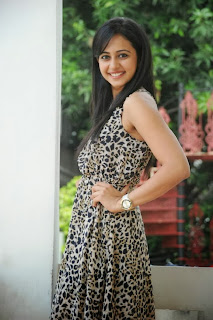 Actress Rakul Preet Singh Latest Pictures in Short Dress  0009