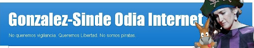 González-Sinde Odia Internet