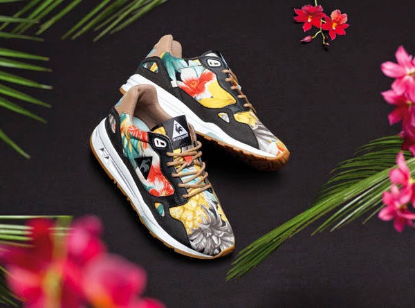Le Coq Sportif zapatillas deportivas estampado tropical