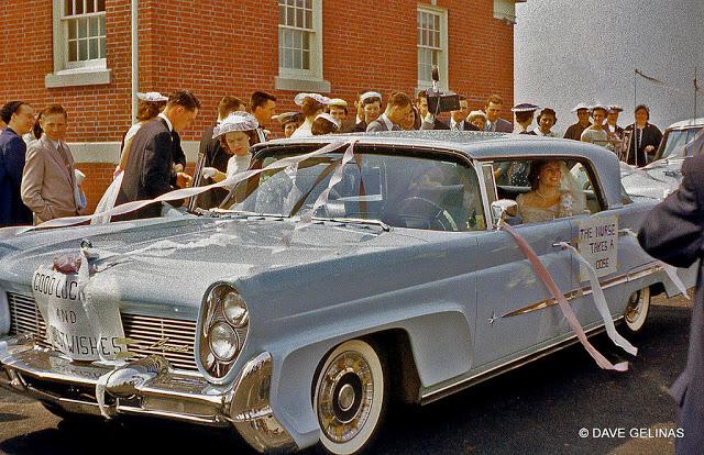 Свадебные ретро автомобили