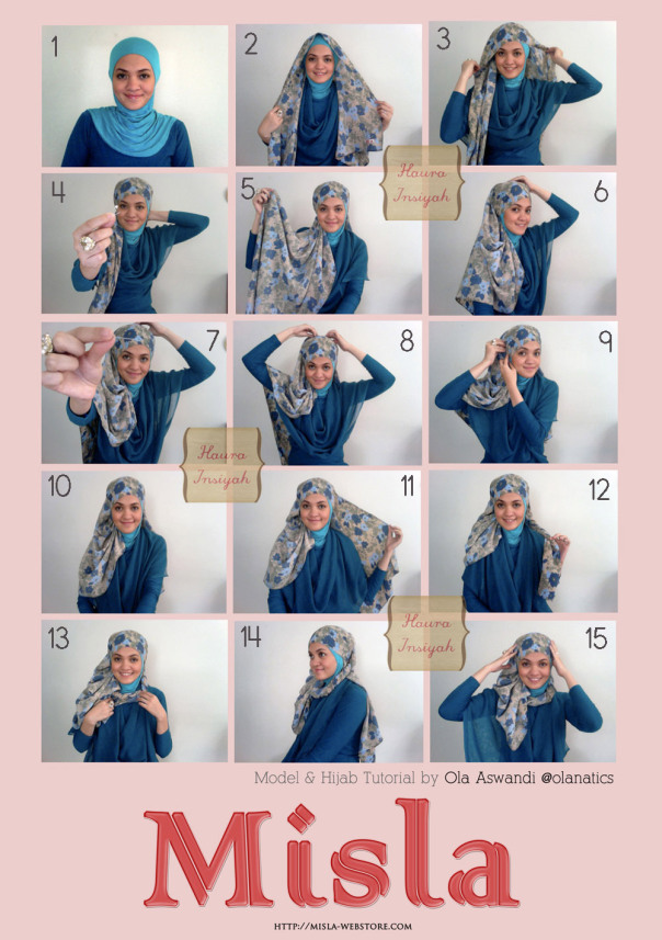 Tutorial Hijab Pasmina Sifon | Review Ebooks