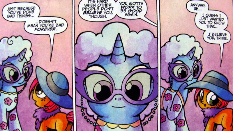 Trixie and Babs