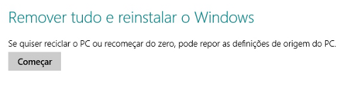 Como formatar o Windows 8 ou 8.1