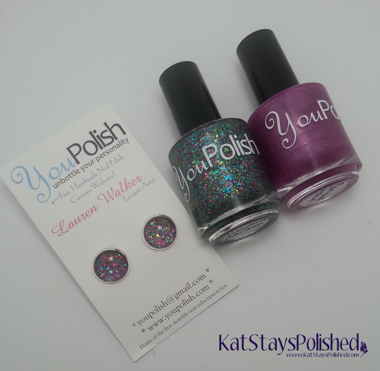 You Polish - Radiant Orchid and Gemstone Garden | Kat Stays Polished