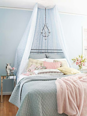 dormitorio diseño romántico