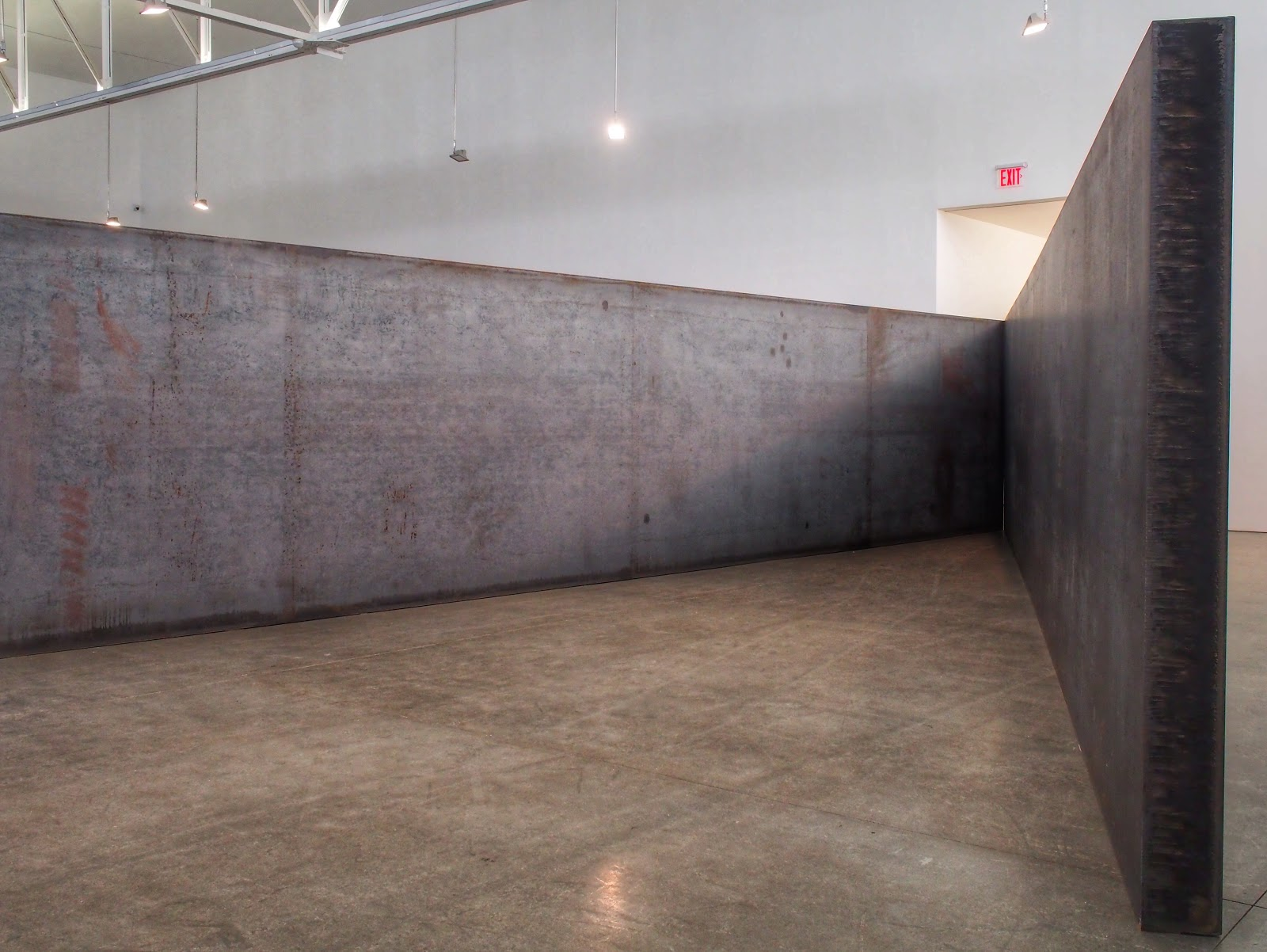 Seven Plates, Six Angles :: Richard Serra, Expedition #RichardSerra #NYC 2013