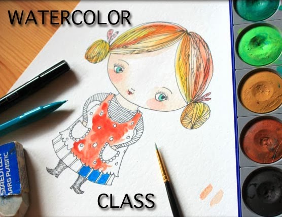 Watercolor Class JOIN NOW!