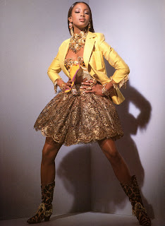 bbnaomicampbell199203veqy6 Beauty Flashback | Naomi Campbell for Versace Atelier