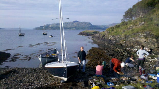 scottishboating: Bilderglug Report - Skiff Cruising works