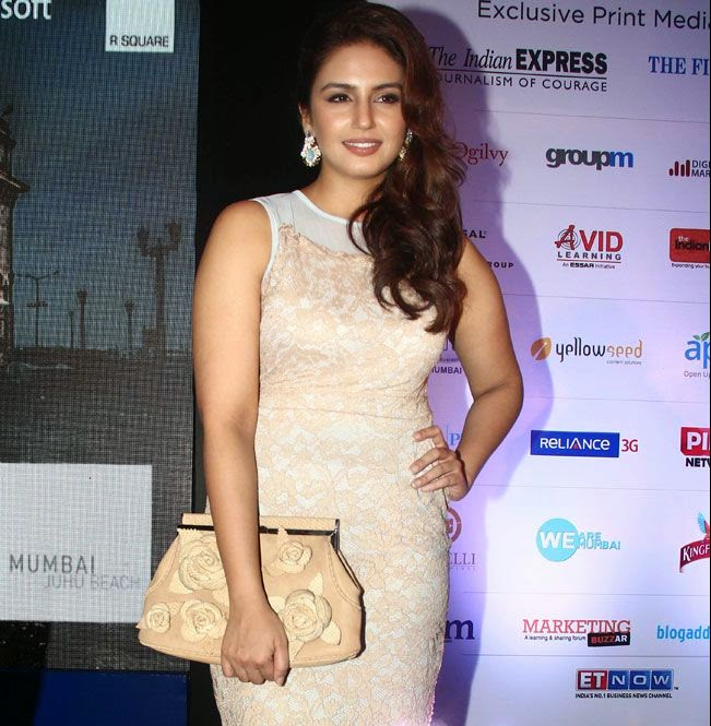 Huma Qureshi Latest Hot Stills In White Dress