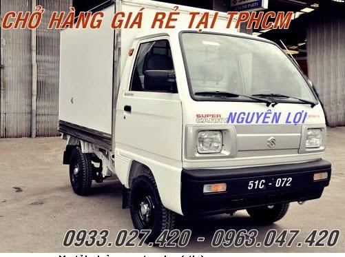 Xe tải 500kg chở hàng thuê
