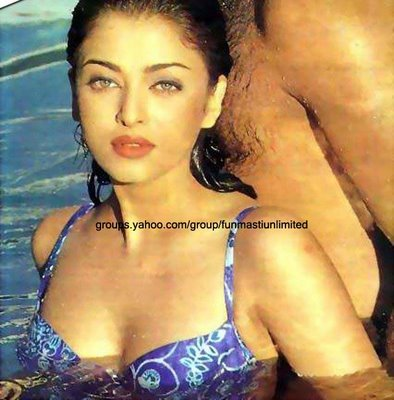 aishwarya rai bollywood actress bikini