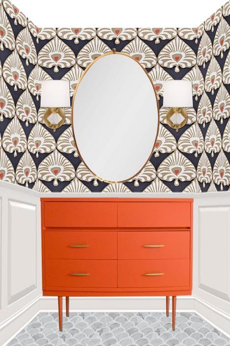 rosa beltran design favorite wallpapers and sconce