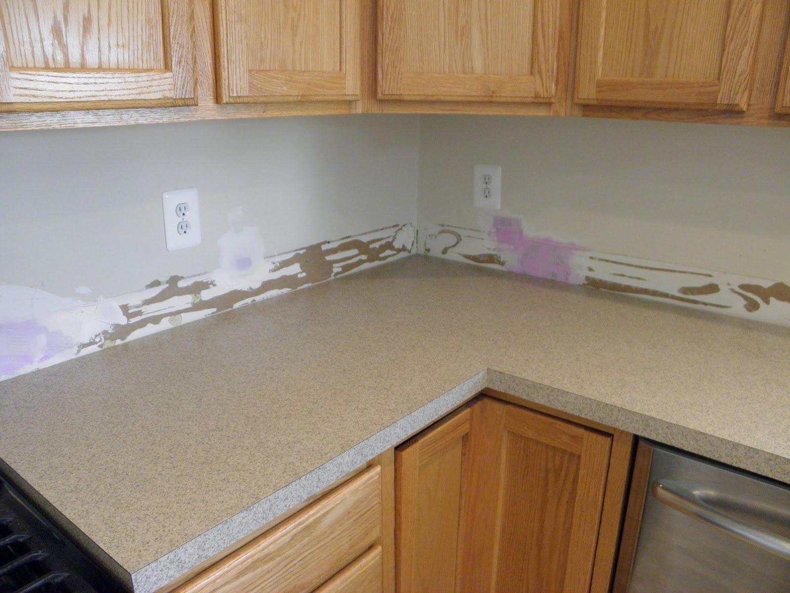 Granite tiles for countertops over laminate home improvement for Formica flooring