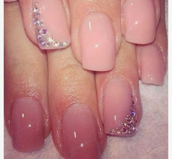 Light pink nail designhttp9ailssidespotnail side home pink nail design light pink nail design prinsesfo Gallery