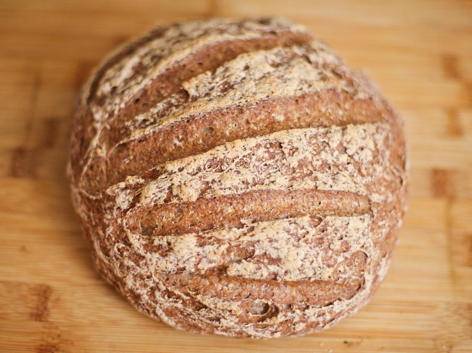 Gluten-free Gourmand: Gluten-free Bread - Large Round Loaf