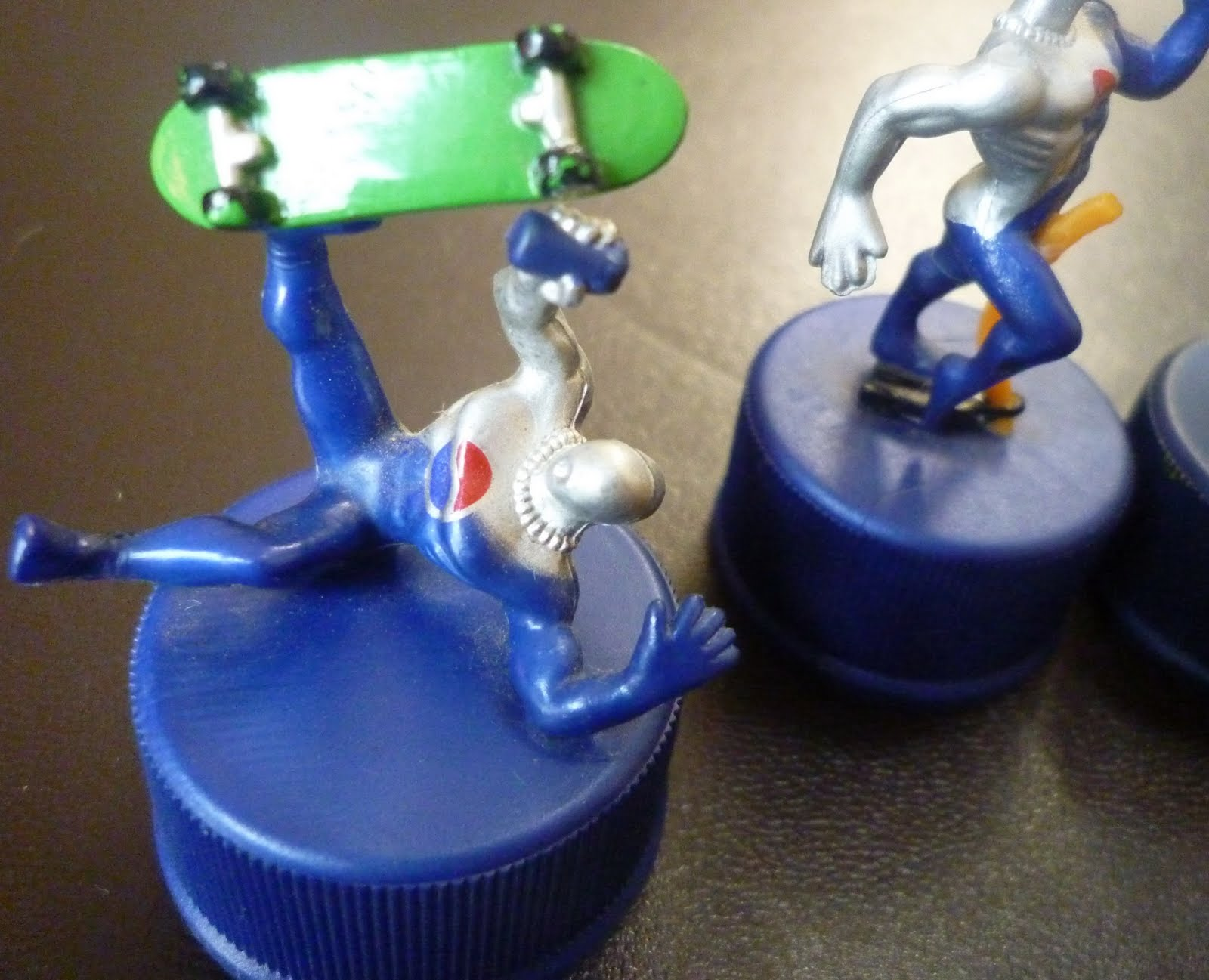WOW Pepsiman P Figure Bottle Cap Pepsi AWESOME!