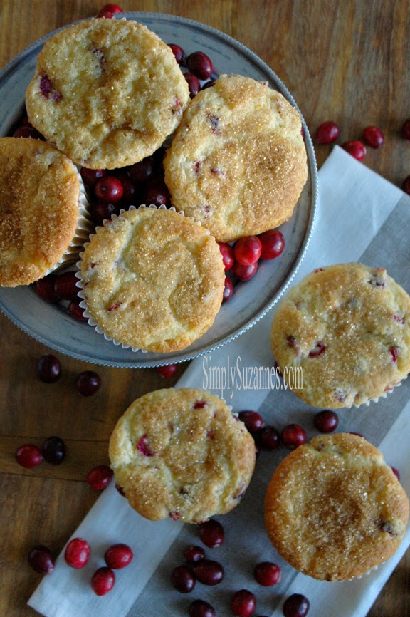 Simply Suzannes- Cranberry range Muffins-Treasure Hunt Thursday- From My Front Porch To Yours
