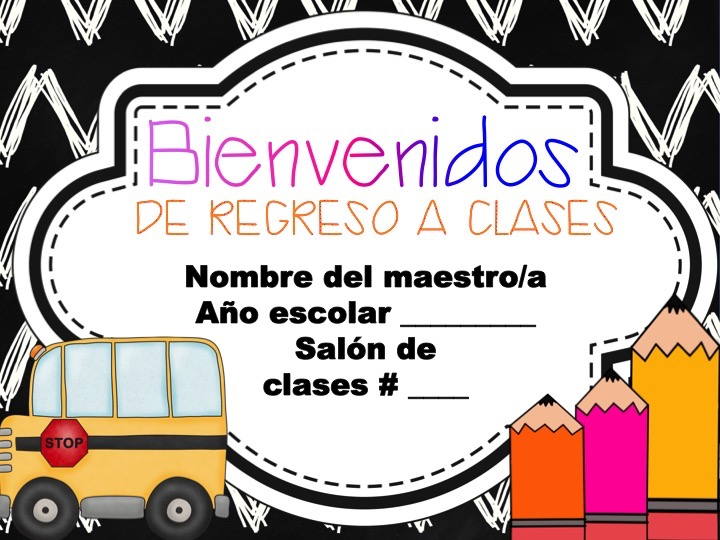 Back to school night made easy learning in two languages presentacin para la noche de regreso a clases toneelgroepblik Image collections