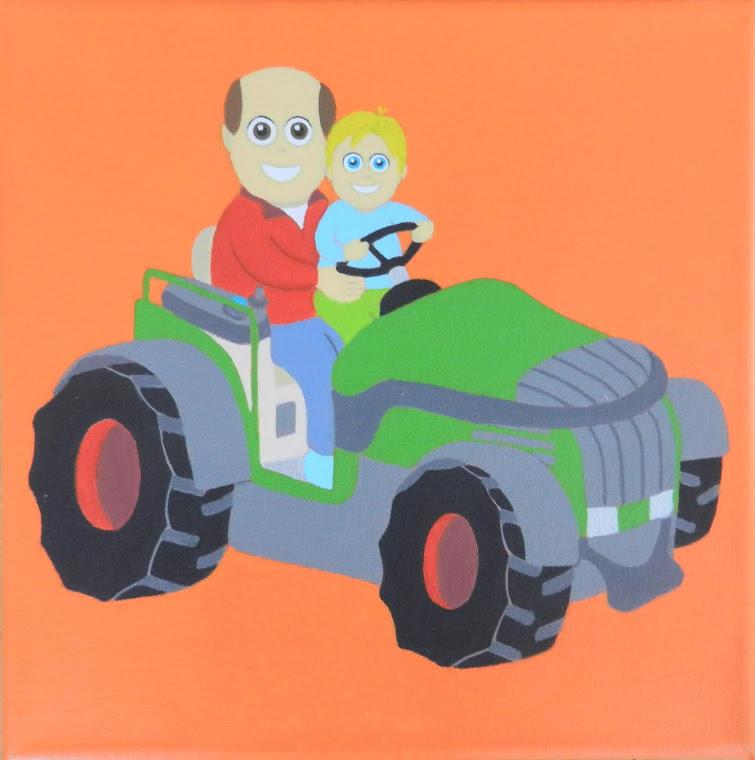 tracteur personnalisé