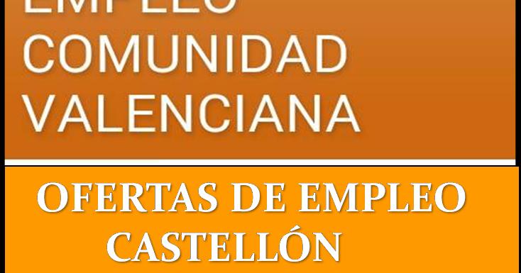 Ofertas de empleo en castell n - Ofertas de empleo en navarra ...