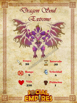 imagen del soul extreme dragon y sus caracteristicas