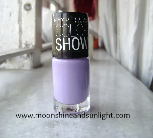 Maybelline Colorshow Blackcurrant Pop swatches and Review