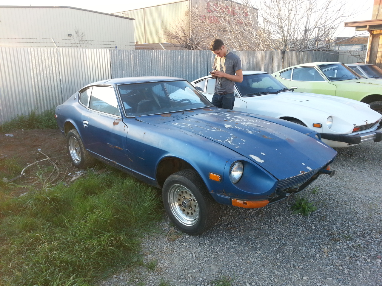 Its A 1974 260z In Decent Condition