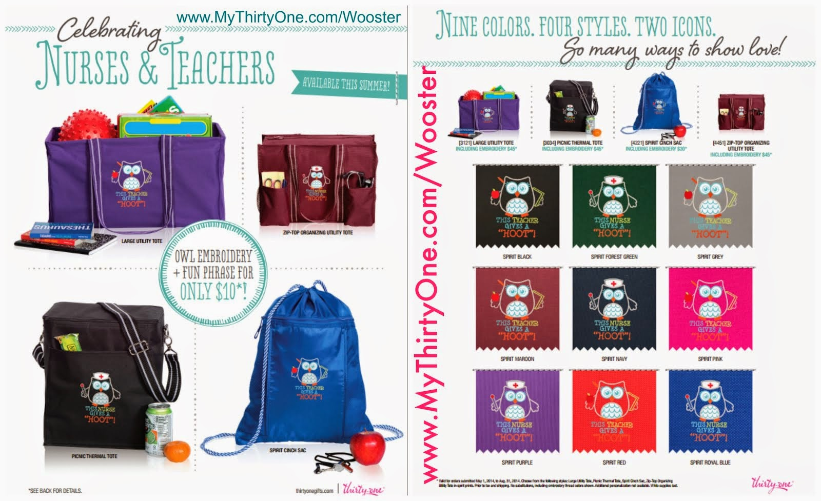 Shop My Thirty One Page!