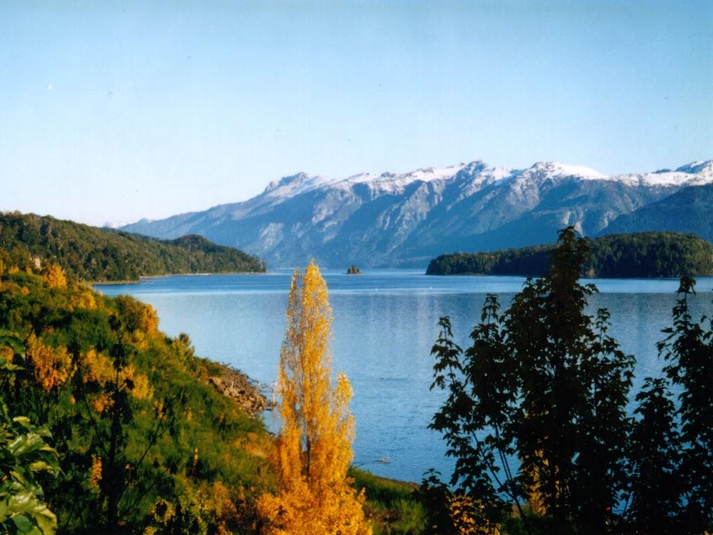 Lago Nahuel Huapi en otoño
