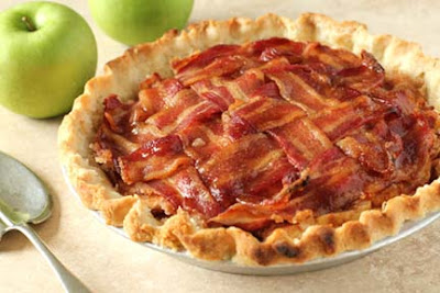 Bacon Crumble Apple Pie