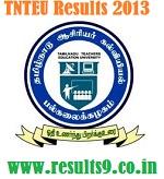 TN TEU M.Ed 2013 Results